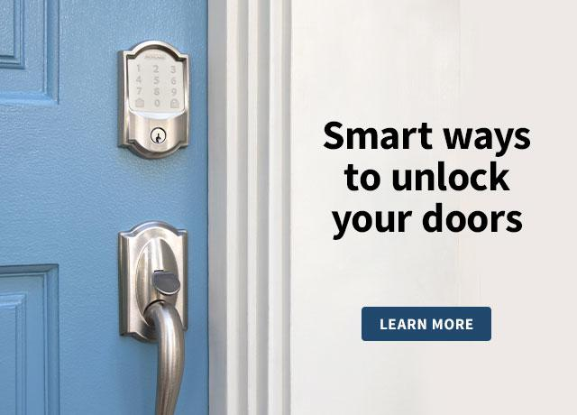 Smart Ways to unlock your doors